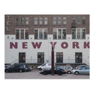 Hotel New York, Rotterdam Postkarte