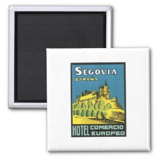 Hotel Segovias Espana Quadratischer Magnet