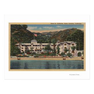 Hotel-St. Catherine in Sankt Catalina, Californi Postkarte