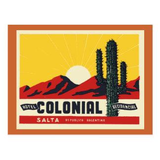 HotelColonial Postkarte