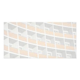 Hotelfenster Individuelle Photo Karte