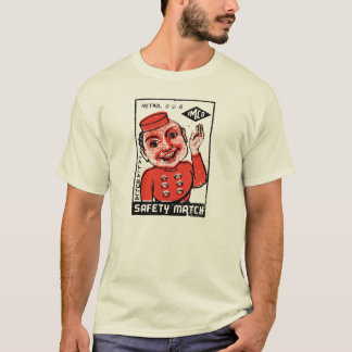 Hotelpage-Sicherheits-Match - Vintage Grafik T-Shirt