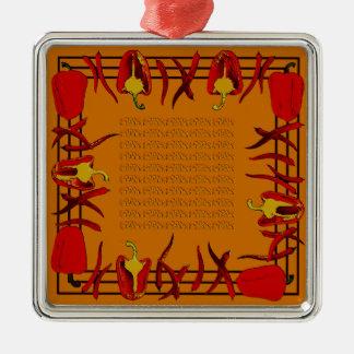 Hots und Süßigkeiten #11 Silbernes Ornament