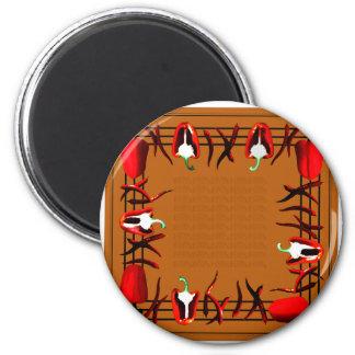 Hots und Süßigkeiten #14 Runder Magnet 5,1 Cm
