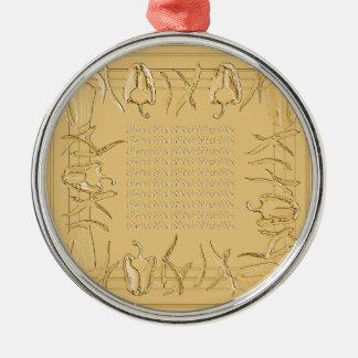 Hots und Süßigkeiten #15 Silbernes Ornament