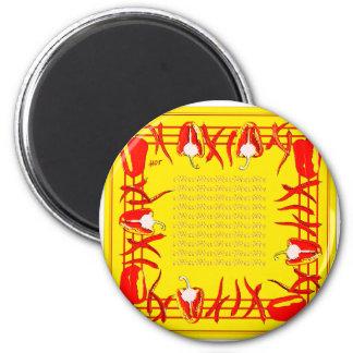 Hots und Süßigkeiten 2 Runder Magnet 5,7 Cm