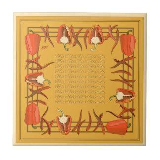 Hots und Süßigkeiten #7 Keramikfliese