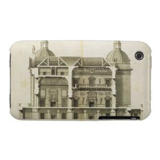 Houghton Hall: Querschnitt des Halls und des iPhone 3 Cover