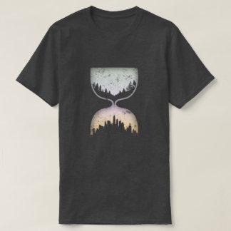 Hourglass der Zivilisation T-Shirt