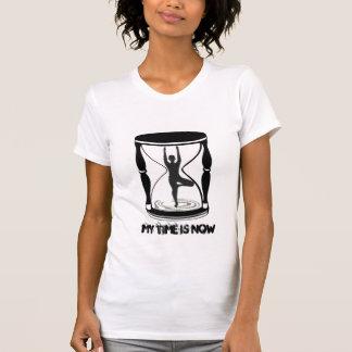 Hourglass - inspirierend Yoga-T-Stück T-Shirt