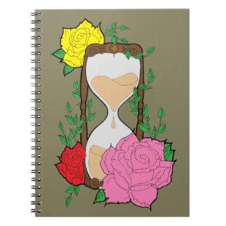 Hourglass Notizblock