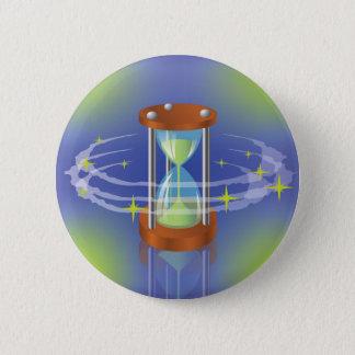 Hourglass Runder Button 5,1 Cm