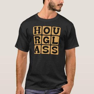 Hourglass, Sand-Betriebener Timepiece T-Shirt