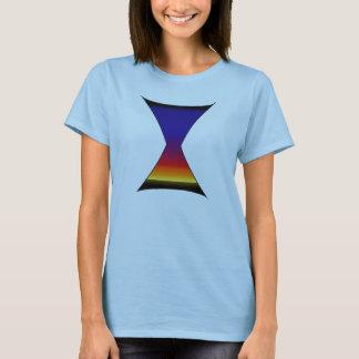 Hourglass-Sonnenuntergang T-Shirt