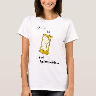 Hourglass-Zeit-Grafik-T - Shirt