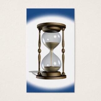 Hourglass-Zeit Visitenkarte