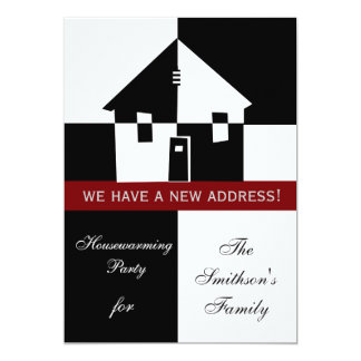 Housewarming-Party Einladung