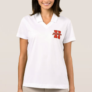 Houston-Buchstabe Polo Shirt
