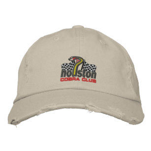 Houston-Kobra-Verein-Hut Bestickte Kappe