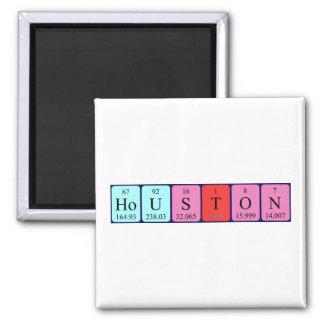 Houston-Periodensystemnamenmagnet Quadratischer Magnet