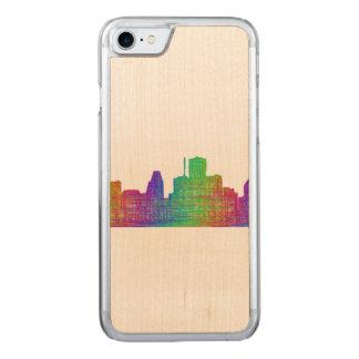 Houston-Skyline Carved iPhone 8/7 Hülle