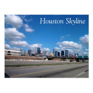 Houston-Skyline-Postkarte Postkarte