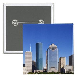 Houston-Skyline Quadratischer Button 5,1 Cm