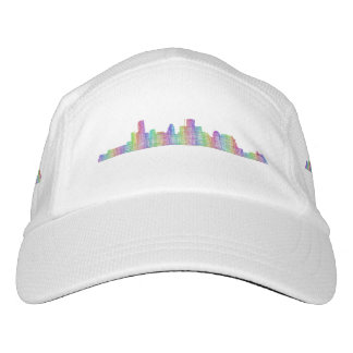 Houston-Stadt-Skyline Headsweats Kappe