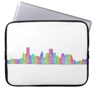 Houston-Stadt-Skyline Laptopschutzhülle