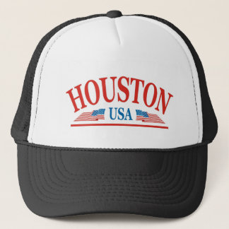 Houston Texas USA Truckerkappe