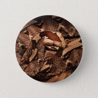 Houston-Zoo Runder Button 5,7 Cm