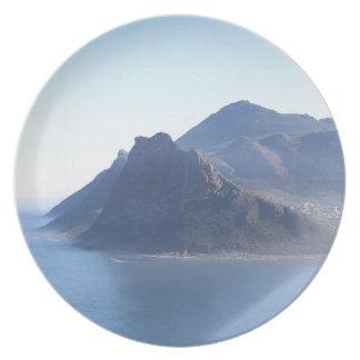 Hout Bucht, Südafrika Teller