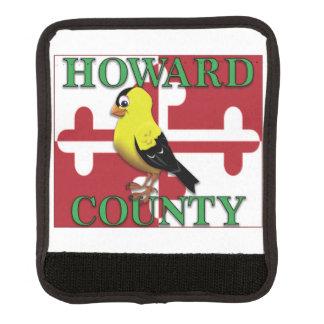 HOWARD COUNTY mit Goldfinch Gepräckgriffwickel