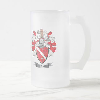 Howard-Wappen Mattglas Bierglas