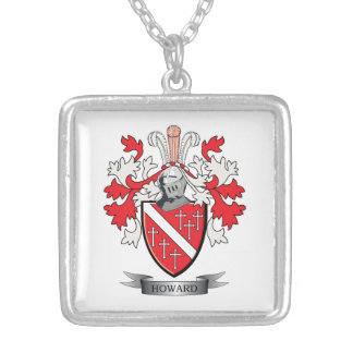 Howard-Wappen Versilberte Kette