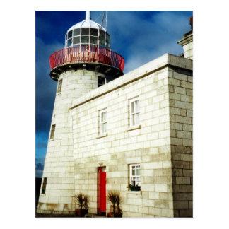 Howth Hafen-Leuchtturm Dublin Irland Postkarte