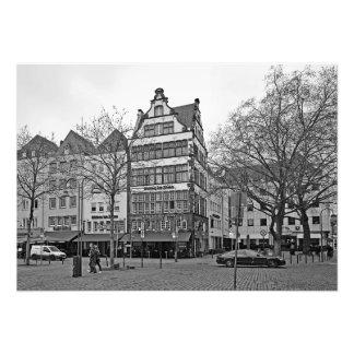 Hoymarkt Quadrat in Köln Fotodruck