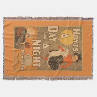 Hoyts a-Tag und eine Nacht in New York City Decke