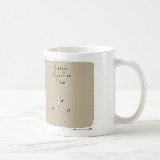 "HP5096 ""Harold Planet"" ""ich las deshalb mich bin "" Kaffeetasse"