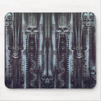 hr_giger_newyorkcity_XI_exotic-corrected-tiled Mousepad