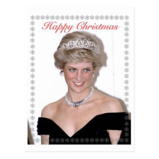 HRH die Prinzessin von Wales-Weihnachten Postkarte