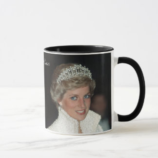 HRH Prinzessin Diana Collection Tasse