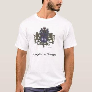 HRM König Kim I Savante neuer Wappen, Ki… T-Shirt