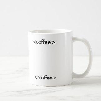 HTML-Kaffee Kaffeetasse