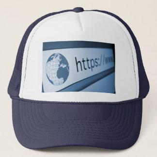 HTTP-Adresse Truckerkappe