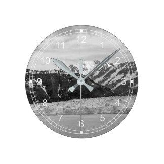 Hubbard Gletscher Runde Wanduhr