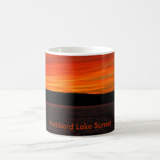 Hubbard See-Sonnenuntergang Kaffeetasse