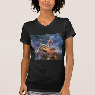 Hubble Bild-Weltraum-Nebelfleck T-Shirt