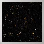 Hubble ultra Weltraum-Feld Posterdrucke