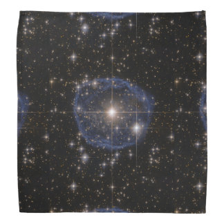 Hubbles blaue Blase Kopftuch
